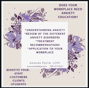 Speaking Events on Anxiety Education